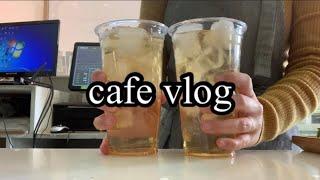 카페브이로그 / 음료만들기 / 카페사장 브이로그 / c…