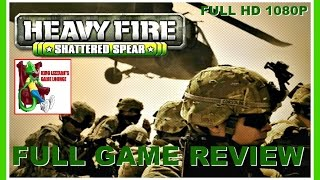 HEAVY FIRE SHATTERED SPEAR XBOX 360 FULL GAME REVIEW