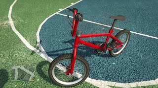GTA 5 | First Person BMX Gameplay Gameplay [Xbox One]