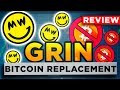 Cryptocurrency GRIN Coin would replace Bitcoin. Do we have to buy? Substitution of BTC or just hype?