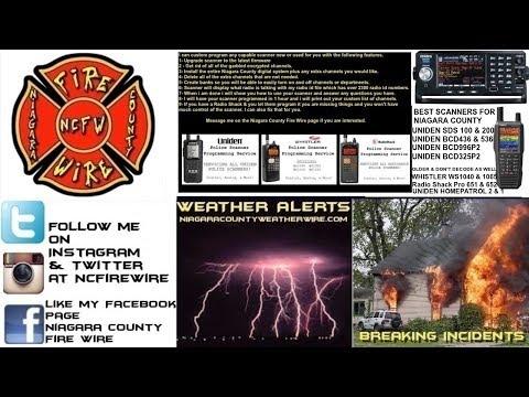 08/22/19 AM Niagara County Fire Wire Live Police & Fire Scanner Stream