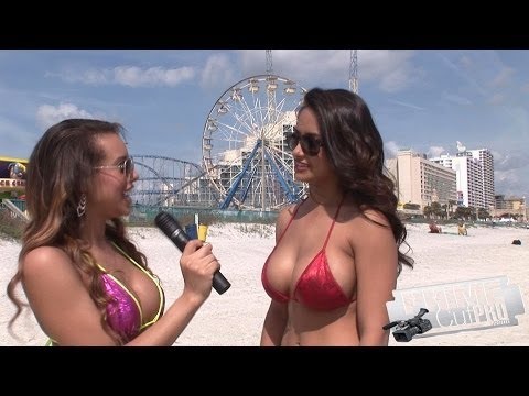 Bikini Beach - Angelina interviews Nikki Rae thumbnail