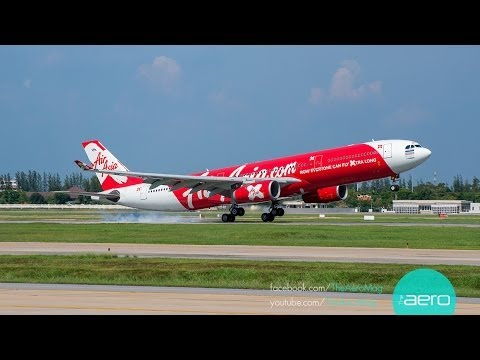 Thai AirAsia X Airbus A330-300 Cabin Tour พาชมเครื่องบินไทย แอร์เอเชีย เอ็กซ์ บินเกาหลี ญี่ปุ่น