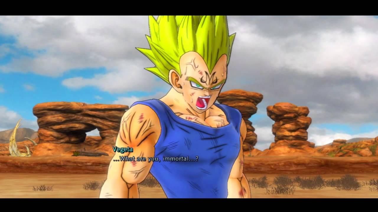 Dragon Ball Z Ultimate Tenkaichi Story Mode: Fat Buu Vs