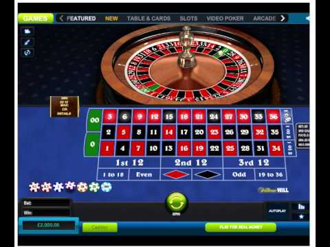 Video Roulette table layout australia