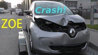 Renault ZOE - CRASH! E-Auto - electric car