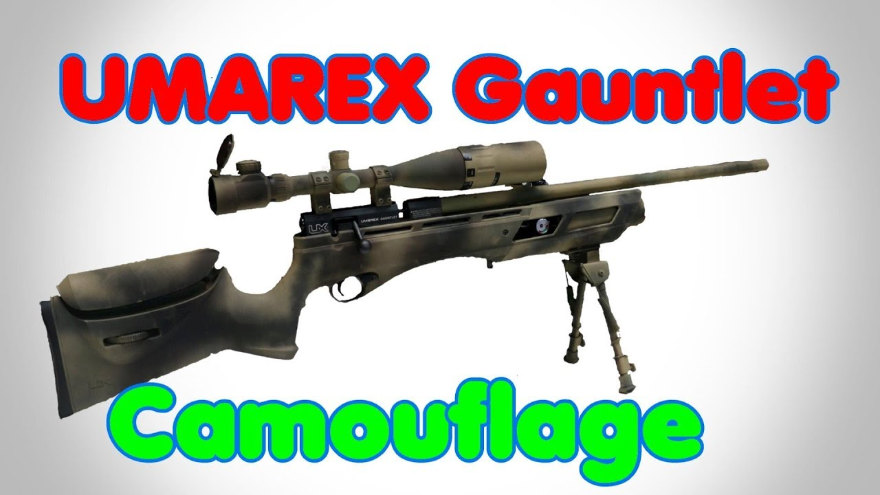 Umarex Gauntlet  22 Air Rifle painting - Pelletonix by Pelletonix