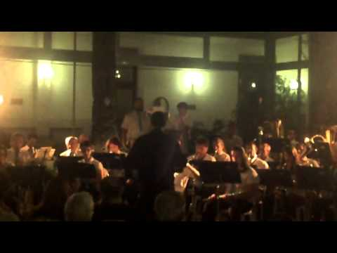 Concerto del Corpo bandistico città di Sanremo al Soggiorno Militare ...