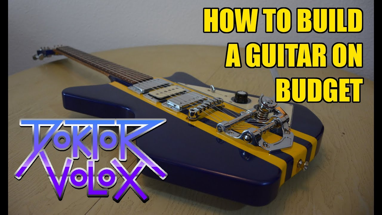 Download How to build an electric guitar on budget (airline type)