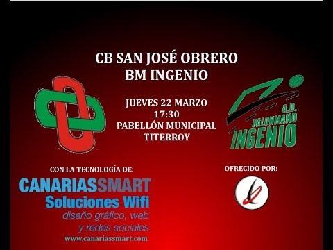 BALONMANO: Campeonato de Canarias juvenil masculino: San José Obrero - BM Ingenio
