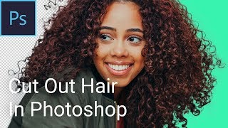 Remove Background From Hair In Photoshop | Cut Out Hair In Photoshop | Photoshop Tutorial | mmtuts screenshot 5