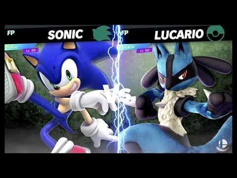 Super Smash Bros Ultimate Amiibo Fights – Request #17426 Sonic Vs Lucario
