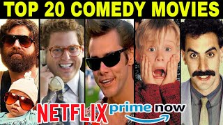 Top 20 COMEDY Movies Evermade by Hollywood in Hindi or English