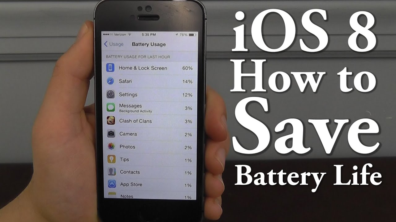 how to save battery on iphone 5s save battery in ios 8 top 10 tips amp tricks 20273