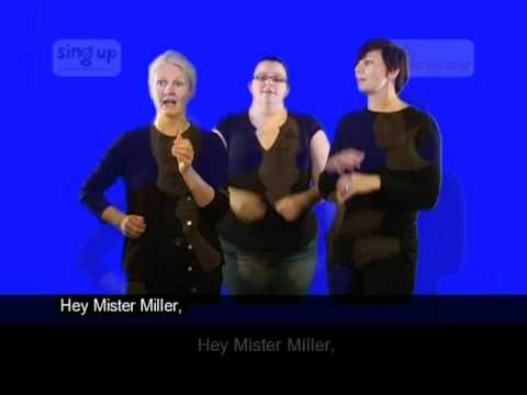 Hey, Mr Miller - Sing Up