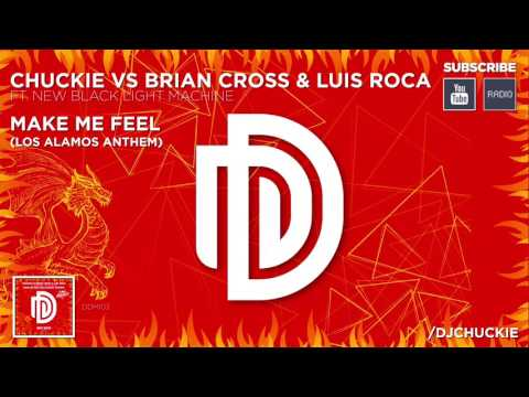 Chuckie Vs Brian Cross & Luis Roca Ft New Black Light Machine - Make Me Feel [DDM103]