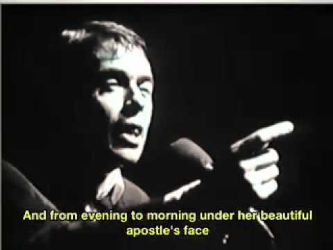 Jacques Brel Ces Gens Là English Subtitles