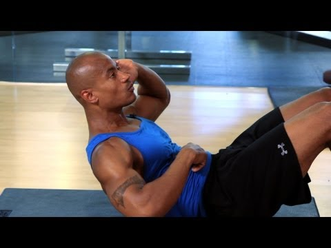 How to Do a Stomach Crunch Properly   Gym Workout
