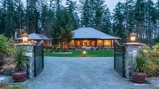 6367 Woodland Drive-Luxury Home For Sale, Cowichan Valley, British Columbia