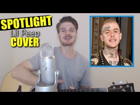 Spotlight Lil Peep Cover By Charles Marlowe