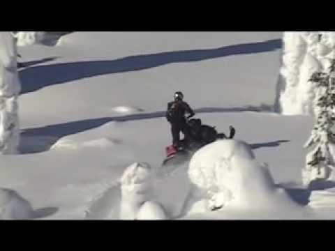 Breathe - the most beautiful snowmobile clip in the world