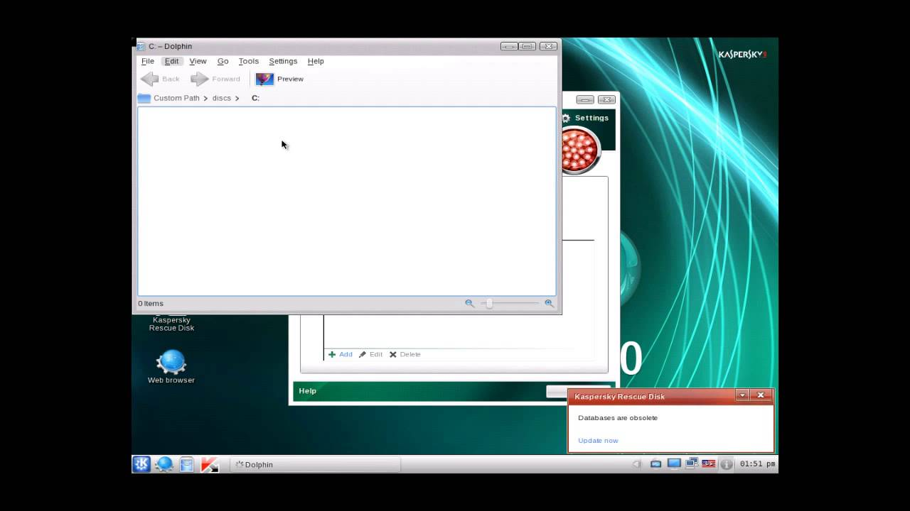 How To: Remove Viruses/Malware Using: Kaspersky Rescue ...