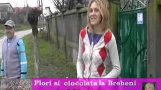 Femeile din Brebeni Olt, au primit flori și ciocolata de la Florin Andronie