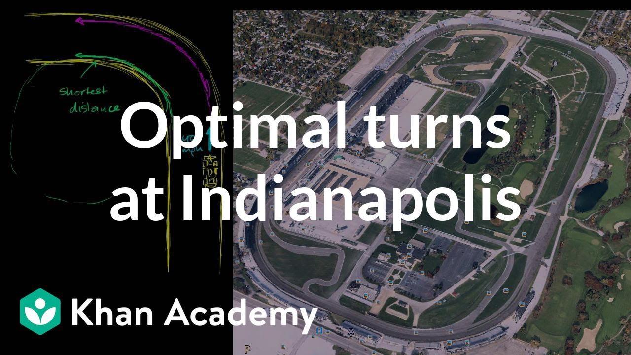Optimal turns at Indianapolis Motor Speedway with JR Hildebrand