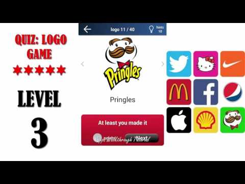 Quiz: Logo Game Level 3 - All Answers - Walkthrough ( By Lemmings at work )