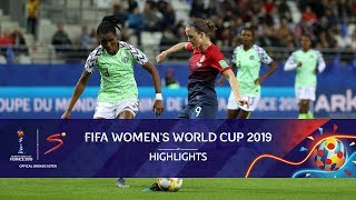 FIFA Women's World Cup | Norway vs Nigeria | Highlights