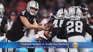 Raiders-Packers Preview: Josh Jacobs, Derek Carr Lead A Revived Oakland Team Into Green Bay