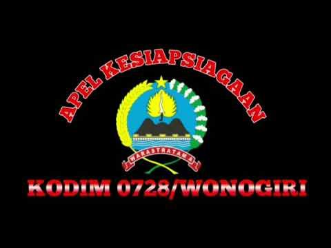 Video - Kodim 0728/Wonogiri Gelar Apel Kesiapsiagaan Jelang Pelantikan Presiden