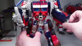 Transformers Movie 2007 Leader Class OPTIMUS PRIME with Automorph Tech Review
