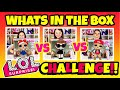 WHAT'S IN THE BOX CHALLENGE! LOL SURPRISE DOLLS EDITION!!! L.O.L SURPRISE QUIZ- SERIES 1, 2, 3