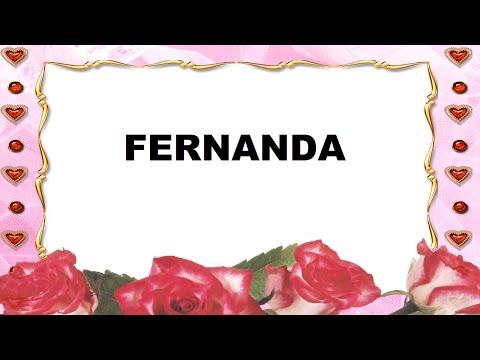 Fernanda Significado e Origem do Nome