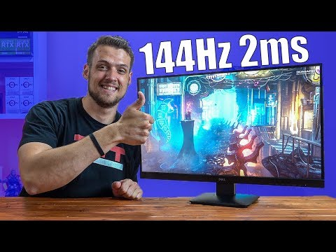 The BEST 144hz Gaming Monitor Under $200 | Dell D2719HGF Review