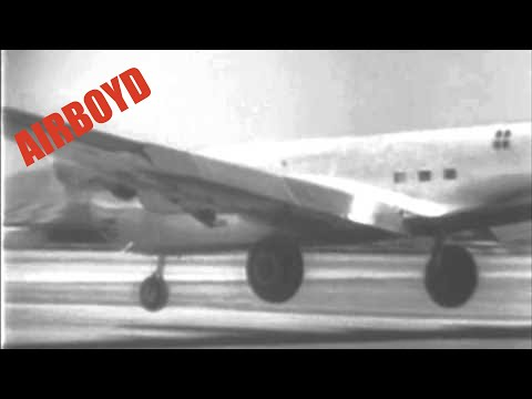 Douglas XB-19 First Flight (1941)