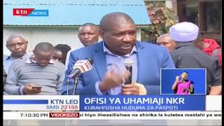 Waziri Fred Matiang\'i afungua ofisi ya uhamiaji Nakuru