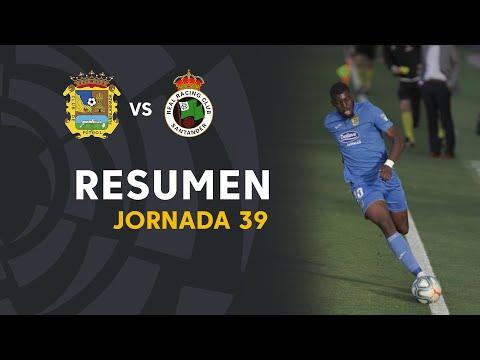CF Fuenlabrada Santander Goals And Highlights