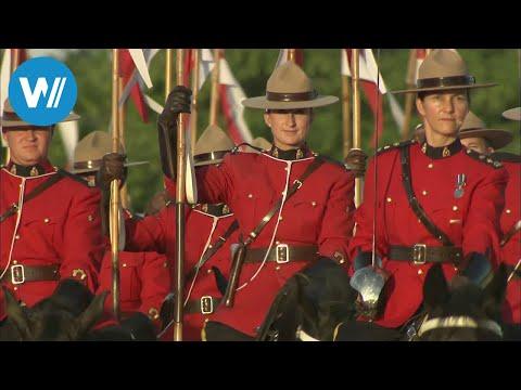 Königliche Mounties - Kanadas berittene Polizei (360° - GEO Reportage)