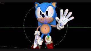 Sonic Generations Classic Sonic Model Arms And Legs Rig Edit