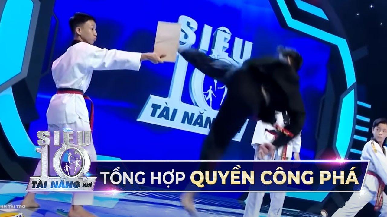 Những cú TUNG CƯỚC của Siêu Nhí Taekwondo khiến Trấn Thành đặc cách vào TOP 10 | Game Show 2020 STNN