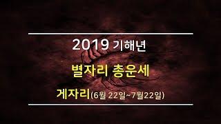 2019년 게자리 별자리운세