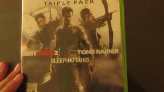 Unboxing Ultimate action triple pack