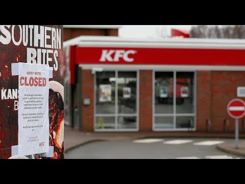 Chicken shortage forces KFC to close many UK stores