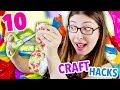 10 Crafting/DIY Hacks You've Never Thought Of! | @karenkavett
