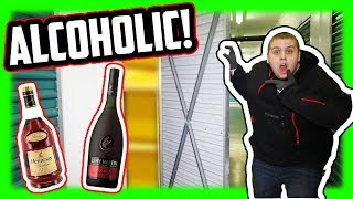 I Bought An Abandoned Storage Unit That Belonged To An Alcoholic!
