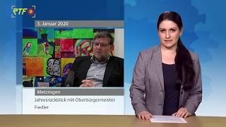 Guter Wein & Hochwasser - Oberbürgermeister Fiedler blickt auf das Jahr 2019 zurück
