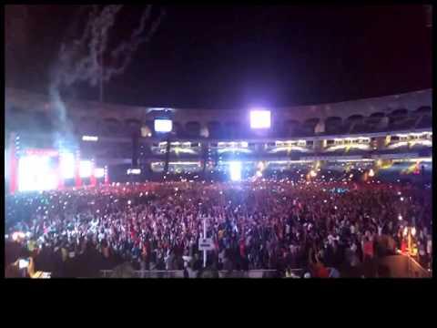 Dy patil stadium concert