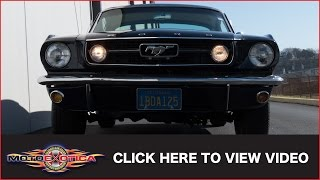 1966 Ford Mustang GT Fastback 2+2 (SOLD)